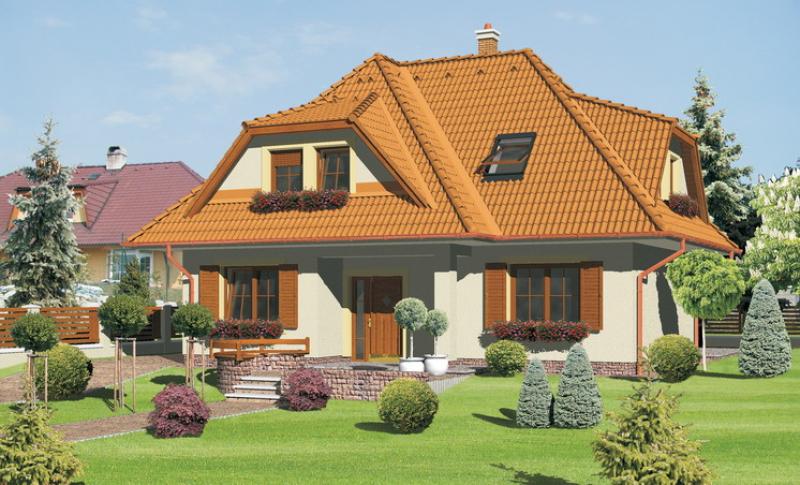 Diamant 103/162 - projekt nízkoenergetického rodinného domu