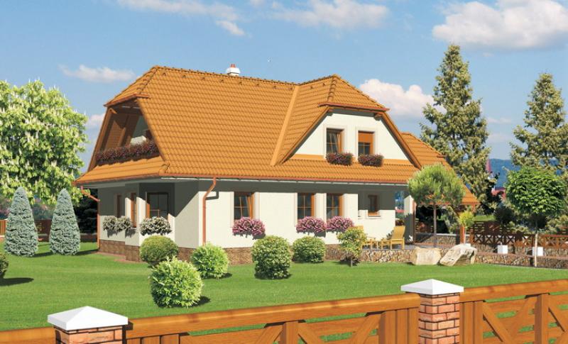 Diamant 113/142 - projekt nízkoenergetického rodinného domu