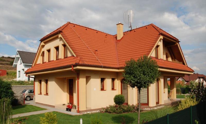 Diamant 126/79 - projekt nízkoenergetického rodinného domu