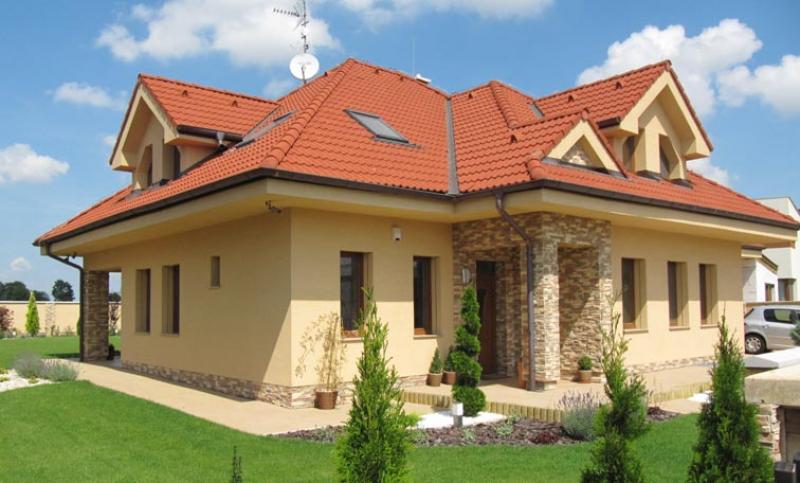Diamant 128/39 - projekt nízkoenergetického rodinného domu