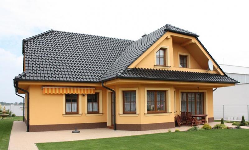 Diamant 145/123 - projekt nízkoenergetického rodinného domu