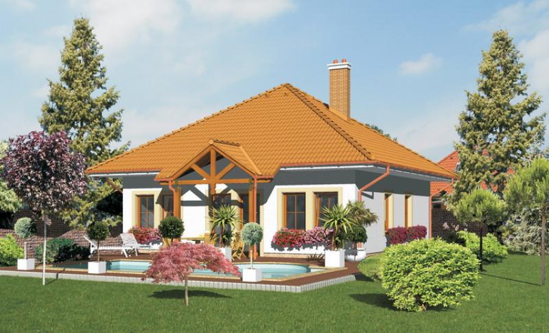 Opál 51/48 - projekt nízkoenergetického rodinného domu
