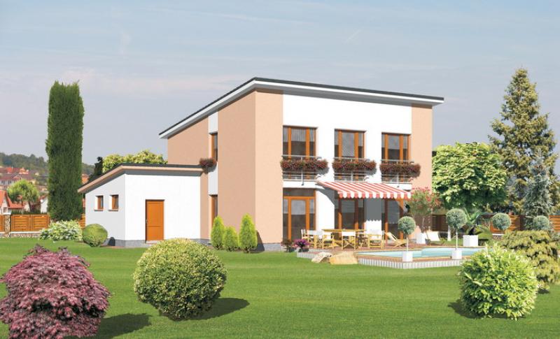 Tyrkys 107/221 - projekt nízkoenergetického rodinného domu