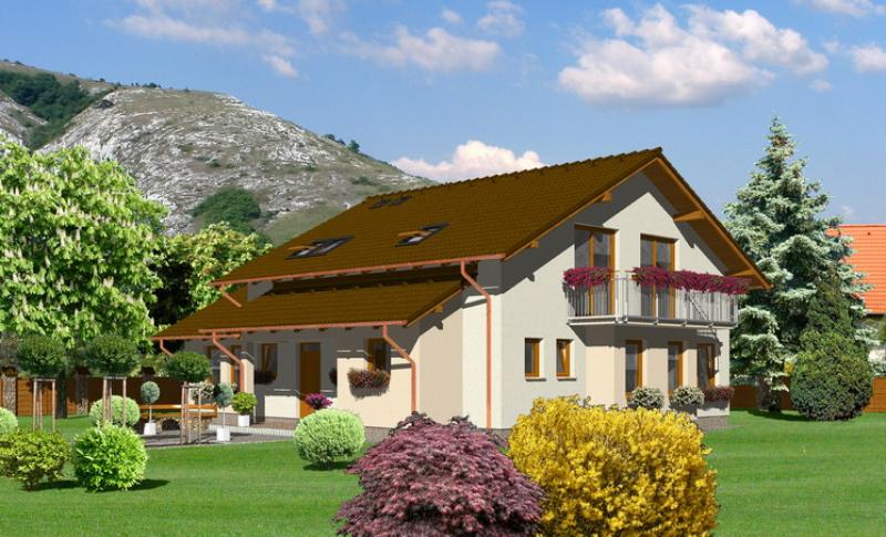 Jantár 126/251 - projekt nízkoenergetického rodinného domu