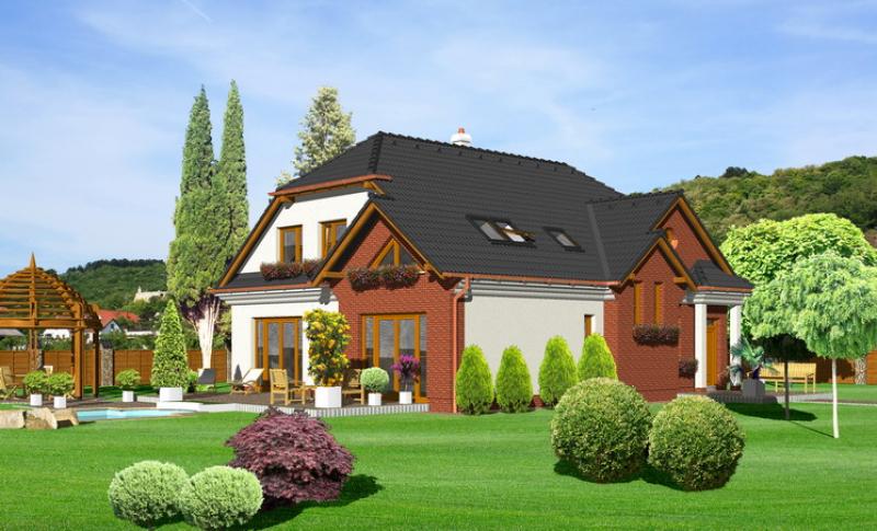 Diamant 132/244 - projekt nízkoenergetického rodinného domu