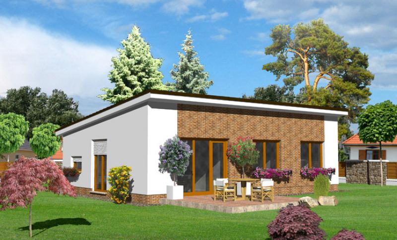 Opál 49/322 - projekt nízkoenergetického rodinného domu