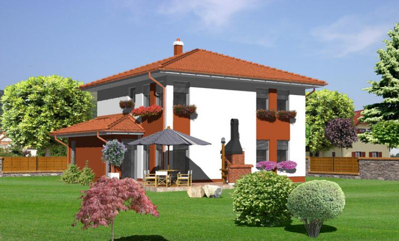 Smaragd 88/327 - projekt nízkoenergetického rodinného domu
