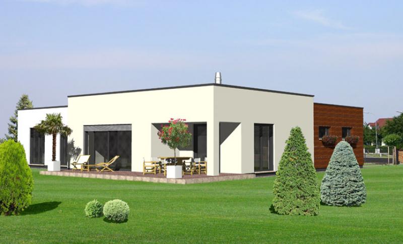 Spinel 109/354 - projekt nízkoenergetického rodinného domu